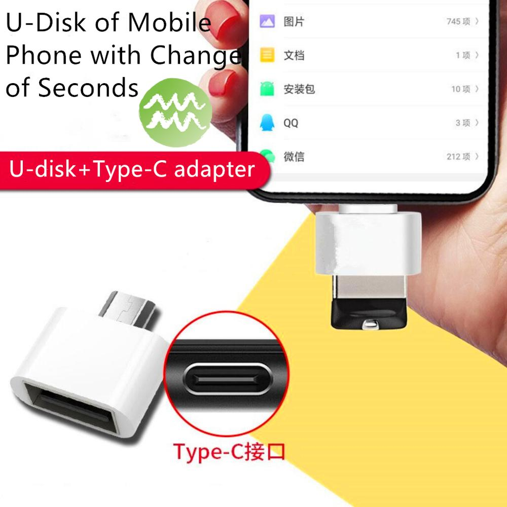 usb c adapter adaptater type Otg C Usb-3.0 for S8 Micro Galaxy Samsung One-Plus Type-C otg Huawei Xiaomi