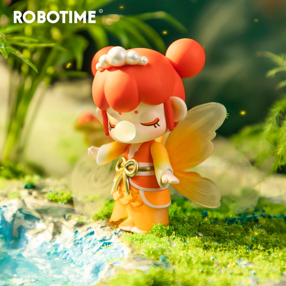 Robotime Blind Box Nanci II Action Unboxing Toys Figure Model Dolls Exotic Special Gift For Children,Kids,Adult