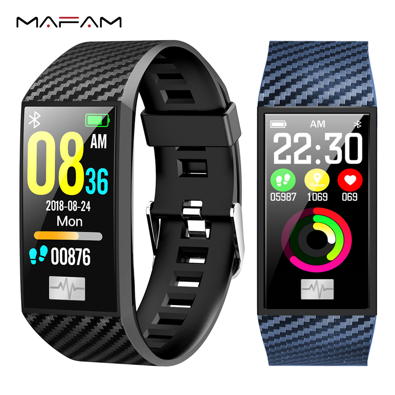 MAFAM DT58 ECG HRV Smart Watch Heart Rate Blood Pressure Monitor Fitness Tracker IP68 Waterproof Band Sport For Android IOS
