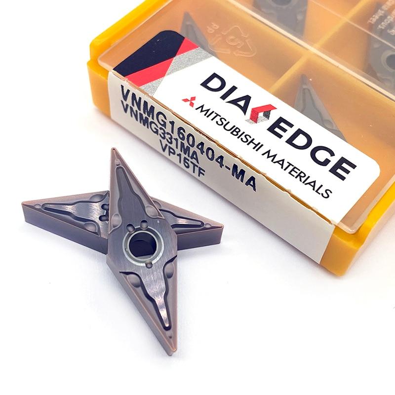 Купить с кэшбэком Tungsten Carbide VNMG160404 MA VP15TF External metal turning tool cutter turning lathe tool CNC tools