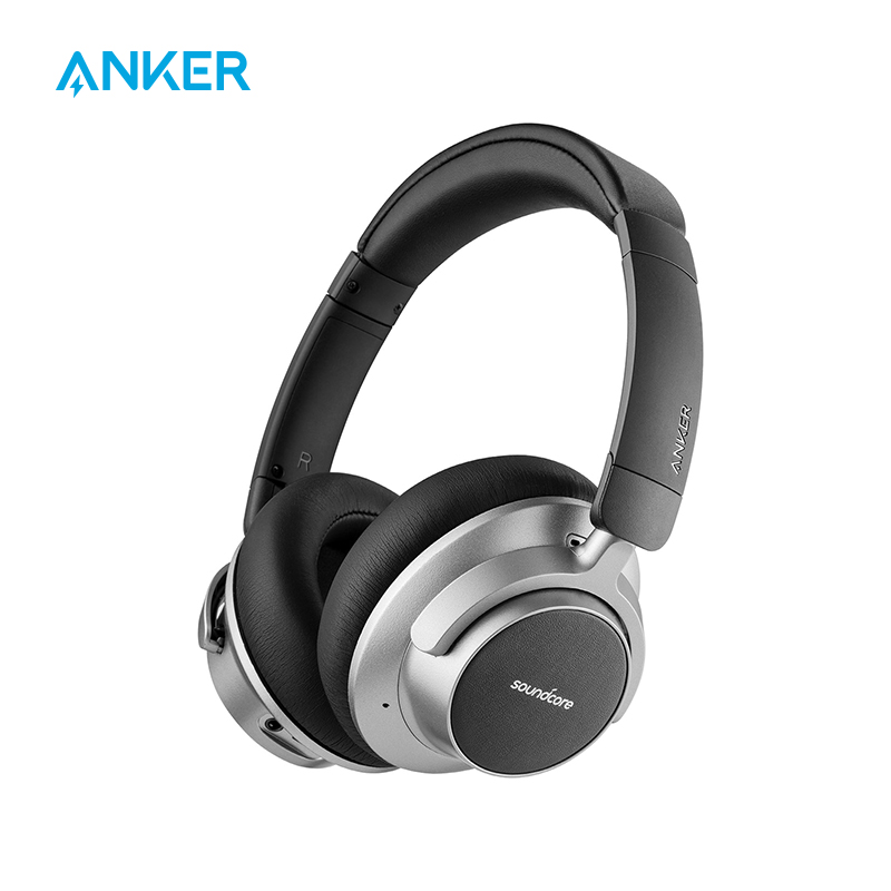 Anker Soundcore Space NC Wireless Noise Cancelling Headphones with Touch Control 20-Hour Playtime Foldable Design