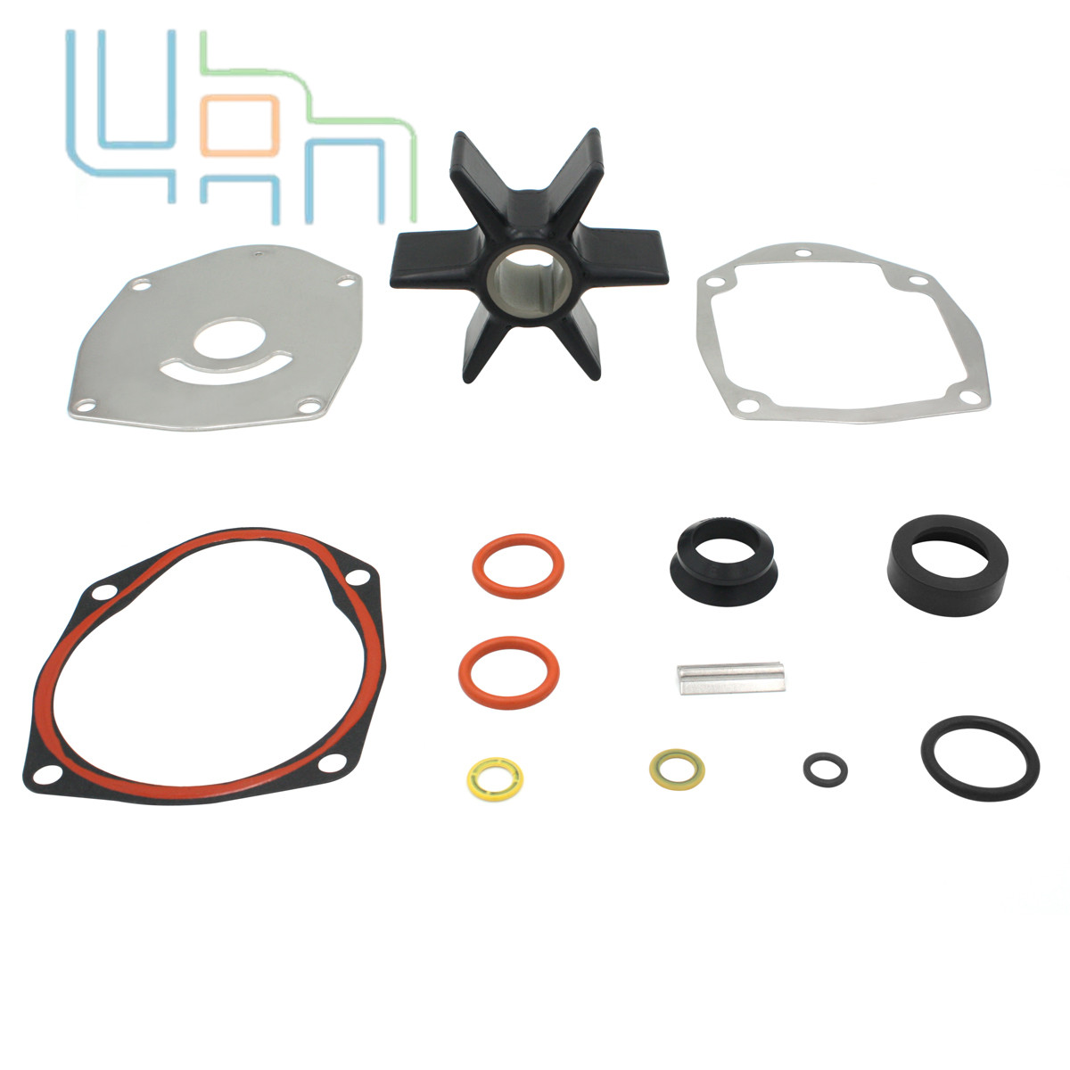 Water Pump Impeller Repair Kit For Mercury Mercruiser 47-8M0100526 47-43026Q06