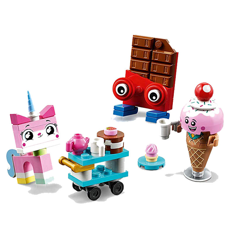 2019 New Toys Unikitty's Sweetest Friends EVER Compatible Legoingly Movies 2 70822 Building Blocks Figure Bricks Christmas Gift
