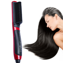 Styler-Brush Straightener Electric-Hair Hair-Styling-Tools Hot Comb Steam Women