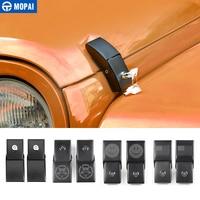 MOPAI Car Engine Lock Hood Latch Catch With Key Lock Cover for Jeep Wrangler JK 2007 2017 Car Accessories Styling|Locks & Hardware| |  -