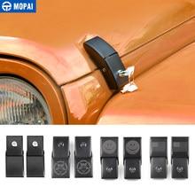 MOPAI – loquet de capot avec couvercle de verrouillage à clé pour Jeep Wrangler JK 2007 – 2017, accessoires de voiture de style