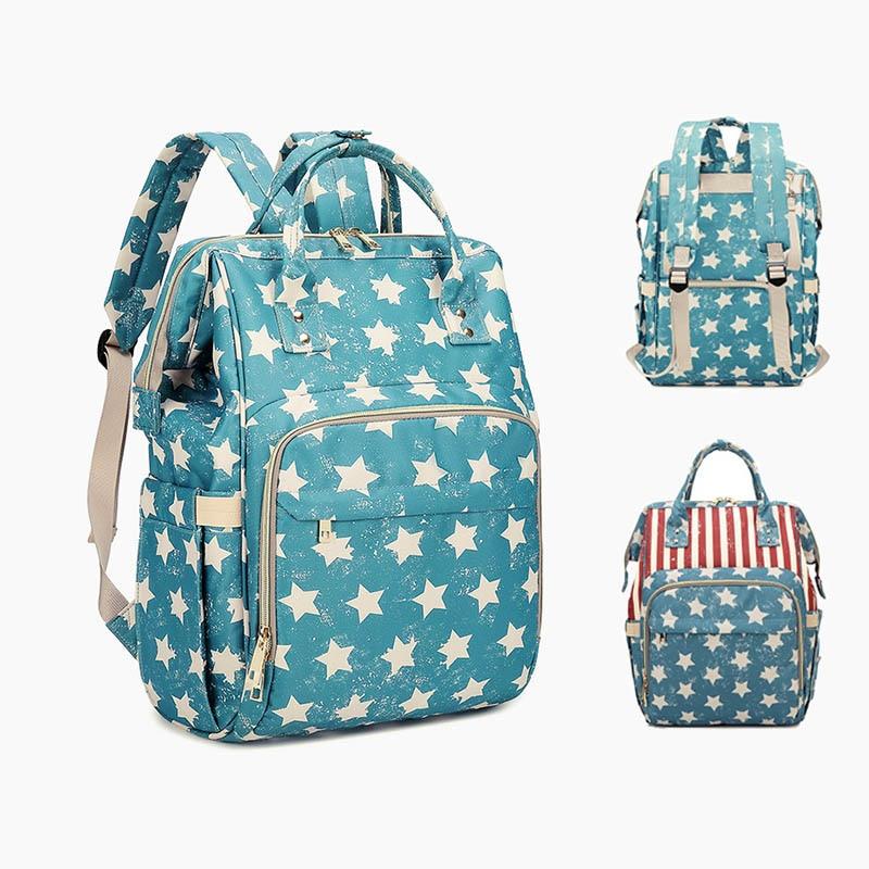 Diaper Organizer Bag Fashion Mummy Maternity Backpack Large Nursing Bag Travel Nappy Bag Designer Baby Stroller Bag Mommy Bag