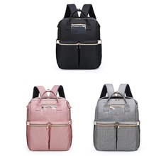 Переносная складная сумка для детских подгузников рюкзак лямки