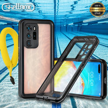 Shellbox IP68 Waterproof Case for Huawei P40 Pro P30 Lite Case Shockproof Diving Cover for Huawei P20 Pro Nova3e Underwater Case