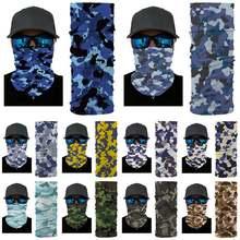 Новый пылезащитный головной платок Камуфляжный мужской бесшовный