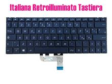 Teclado retroiluminado azul italiana para asus zenbook ux333fa ux333fn 0kn1-6a1it13 0knb0-1628it00