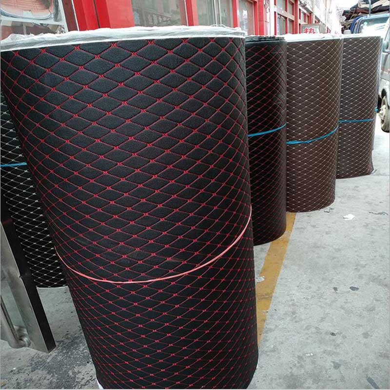 Wholesale XPE Super Fiber Leather Material Car Mat Carpet Waterproof Pad Car Supplies Waterproof Pad Luggage Mat