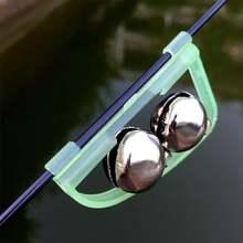 5 шт приманка рыболовные Крючки колокол twin удилища рыба прозвенит