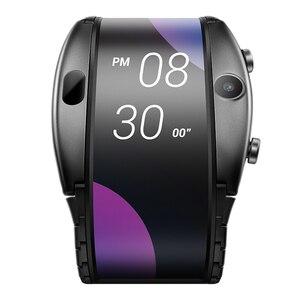 """Image 4 - Nowy zegarek telefon Nubia ALPHA 4.01 """"składany elastyczny wyświetlacz sport w czasie rzeczywistym wiadomość z przypomnieniem Bluetooth wywołanie gestów w powietrzu"""