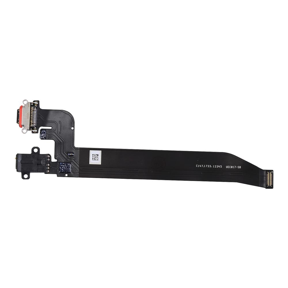For Oneplus 5 A5000 & 5T A5010 Dock Connector USB Charger Charging Port Earphone Jack Flex Cable Module Replacement Repair Parts