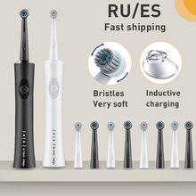 Electric Sonic Toothbrush Rotating Ultrasonic Automatic tooth brush Oral Care cleaning Replaceable brush head oral hygiene