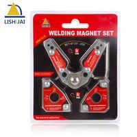 LISHUAI 2 Pcs Set, Multi-winkel Schweißen Magnet + 20-200 Grad Einstellbar Schweißen Clamp