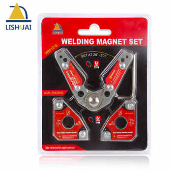 LISHUAI (3Pcs/Pack)Multi-angle Welding Magnet + 20-200 Degree Adjustable Welding Clamp - DISCOUNT ITEM  26 OFF Home Improvement