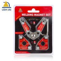 LISHUAI (3Pcs/Pack)Multi angle Welding Magnet + 20 200 Degree Adjustable Welding Clamp