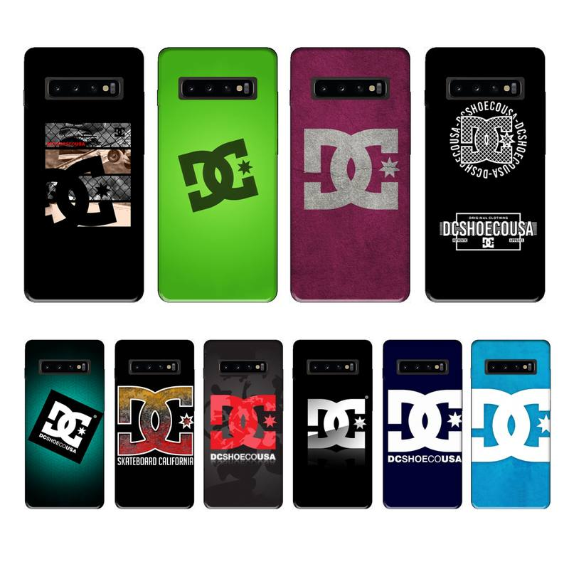 LouisY Skateboard Logos Pics Soft Silicone TPU Phone for samsung galaxy S8 S9 S10e S20 PLUS J6 J600
