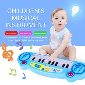 Mini Musical Instrument Toy Children Piano Early Learning Kids Piano Developmental Music Educational Toys Christmas Gifts popular musical instrument keyboard toys portable baby kids animal farm music piano developmental toy children gifts