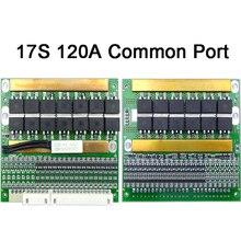 72V 6-17S BMS Adjustable 18650 LiFePo4 Lithium Battery Balancer 35A 50A 80A 120A 150A Solar Panel PCM Balance Protection Board