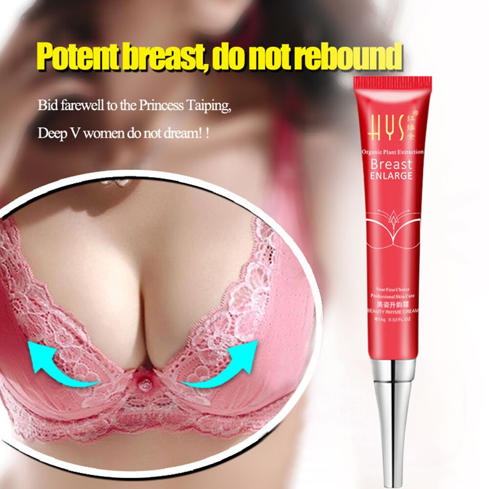 1PC Breast Enhancement Enlargement Cream Smooth Big Bust Large Curvy Breast Extract of Kigeline Extract of breast enlargement15g
