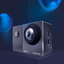 4K Action Camera 2 inch Touch Display IMX386 Sensor WiFi 30M Waterproof Sport DV Carrying Handheld Camera Elements