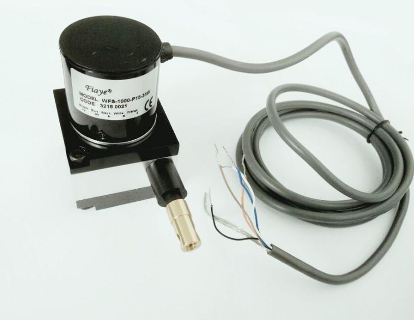 Encoder Cable Encoder High Precision Pulse Rope Displacement Sensor 1000p