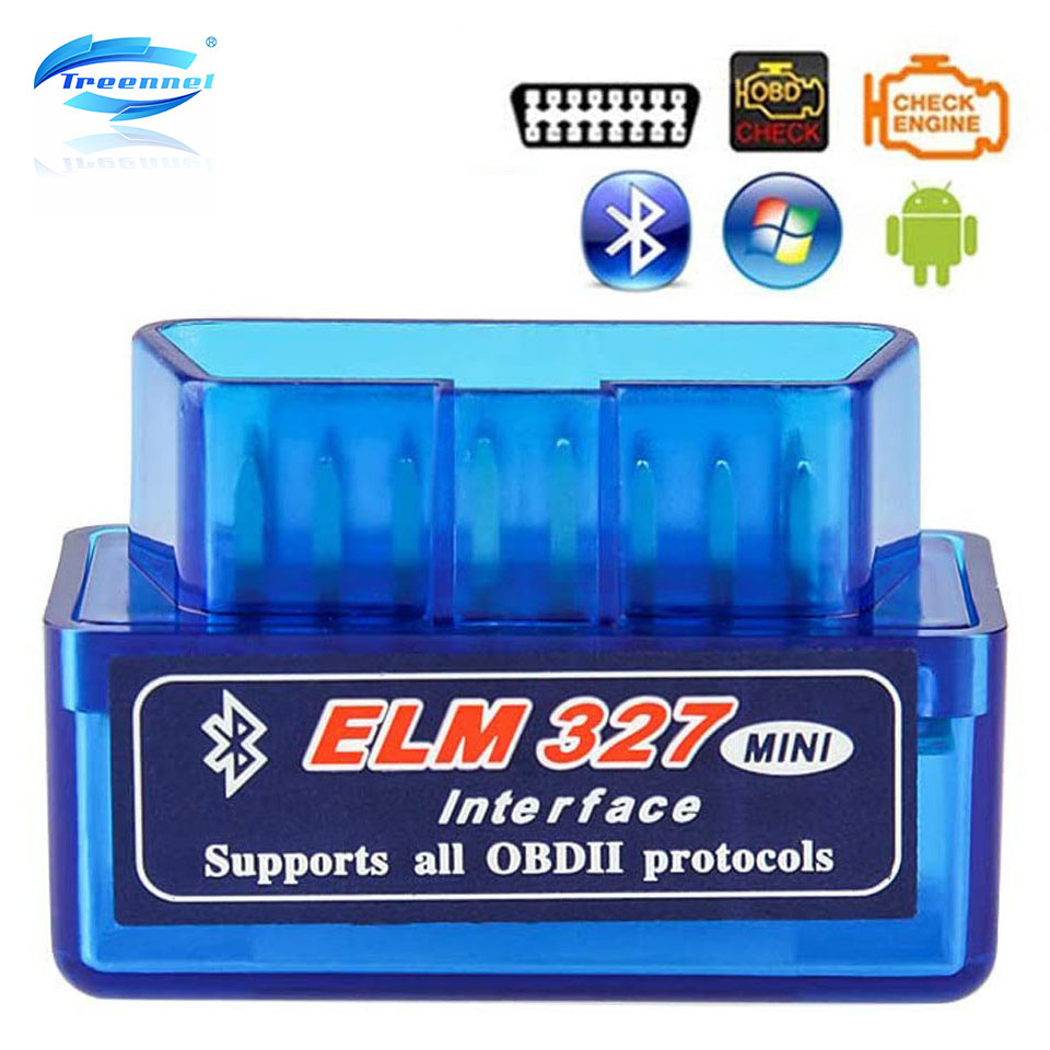 Treennel Elm327 Launchh OBD2 Professional Bluetooth Scan Tool And Code Reader For Android,ELM327 V2.1Car Auto Diagnostic Scanner