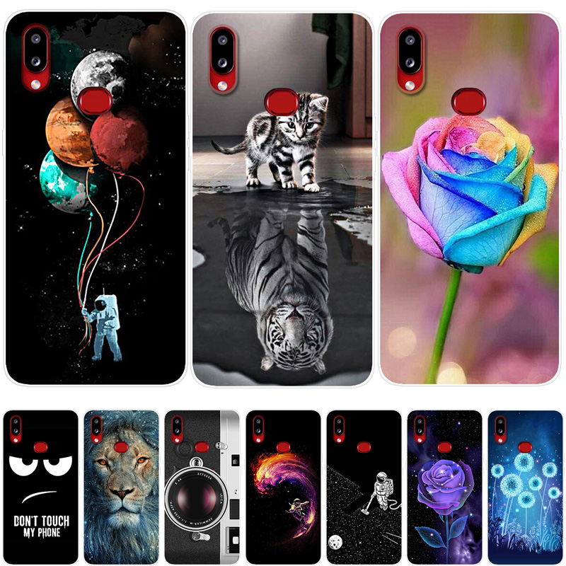 For Samsung Galaxy A10S Case 2019 Soft TPU Silicone Cover Cool Cartoon Phone Case For Samsung A10S Galaxy A 10S <font><b>A107F</b></font> Back Cover image
