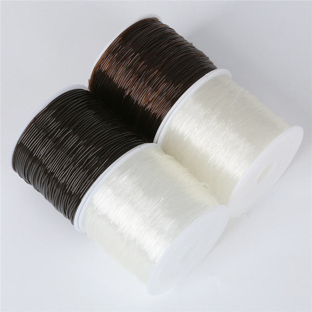 100M/Roll Plastic Crystal Tec Korea DIY Beading Stretch Cords Elastic Line Jewelry Making Supply Wire String jeweleri thread