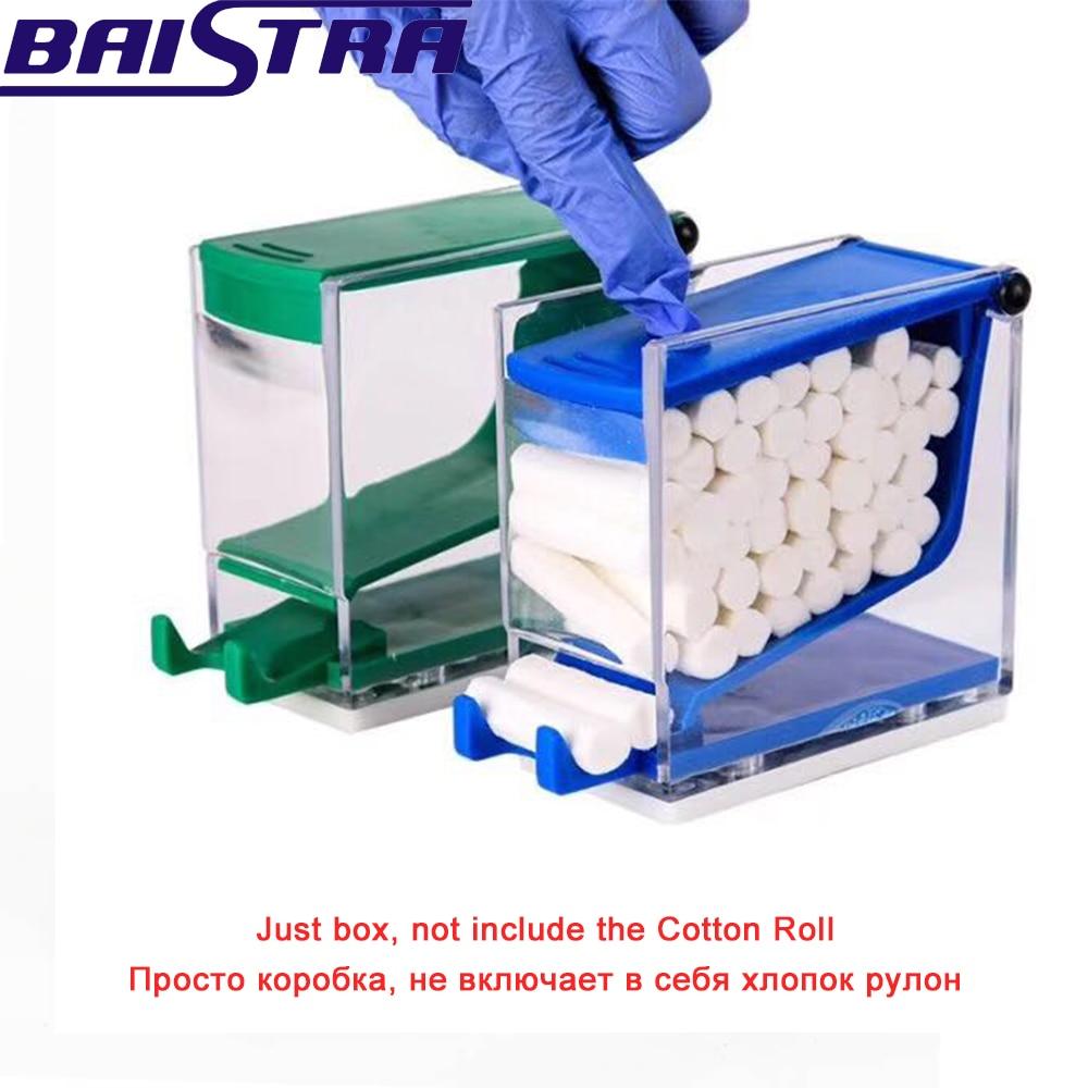AZDENT Dental Dentist Cotton Roll Dispenser Holder Press Type