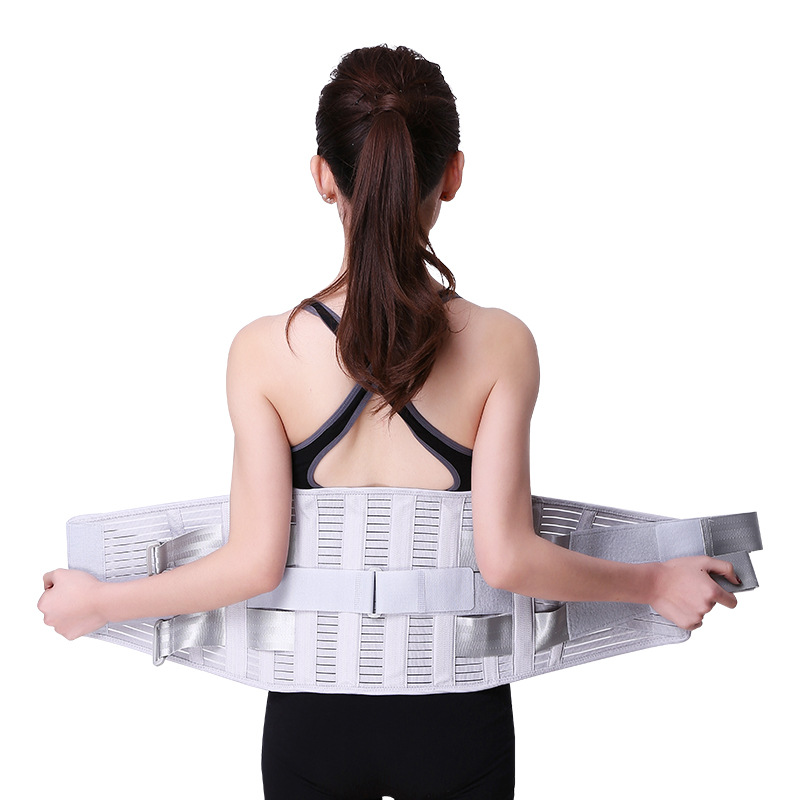 New Style Waist Supporter Steel Plate Support Widened Fixing Band Sports Fitness Waist Protection Belt For Both Men And Women