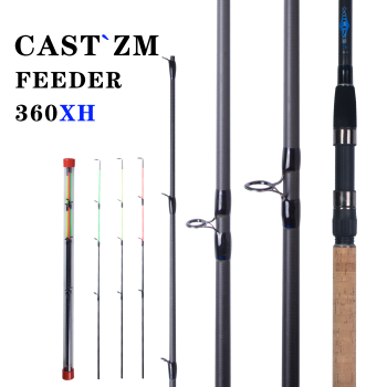 MIFINE feeder fishing rod spinning casting high carbon Travel Rod 3.6m vara de pesca Pole Carp Feeder max180g