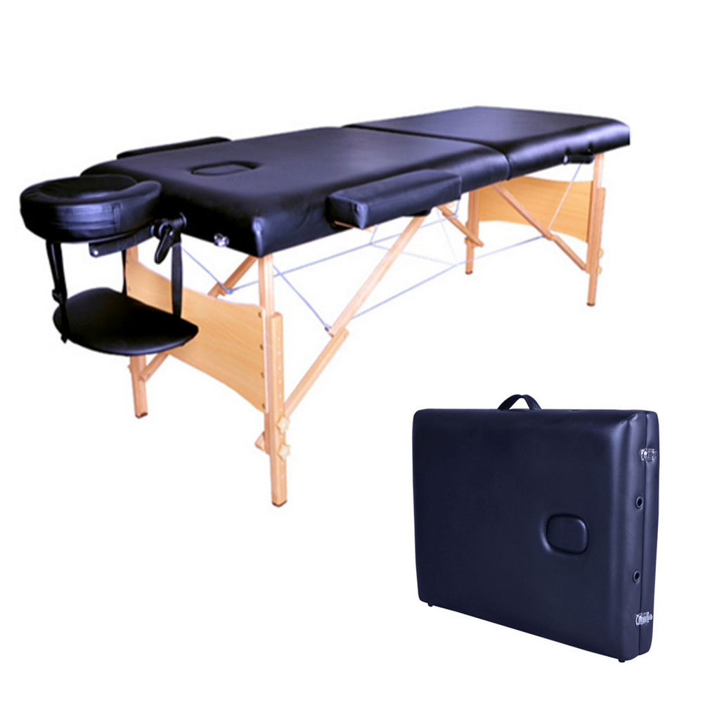 Portable Folding Beauty Massage Bed Facial Body SPA Therapy Beauty Table Beauty Salon Tattoo Bed Adjustable Furniture