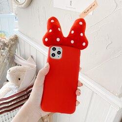 3D łuk pluszowe słodkie fala punkt miękkiego silikonu etui na telefony dla HuaWei P30 Pro P40 Mate 30 Pro Nove 6 7 5 P20 20 Lite punkt fali cvoer