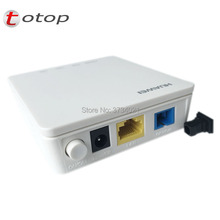 1pcs Original Hw HG8010H EPON 1GE ONU ONT With 1 port EPON apply to FTTH mode, Hg8010h with power and box