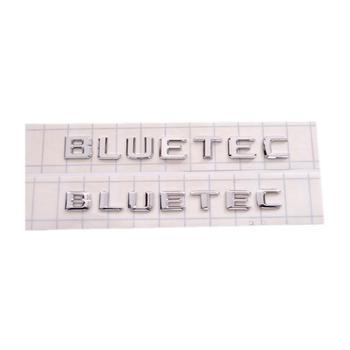 50PCS/LOT ABS 3D Plastic Old and New Style Bluetec Car Emblem Badge Sticker