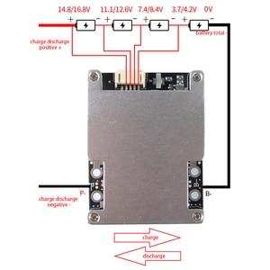 Image 3 - 4S Li ion Lifepo4 Lithium 3.2V Battery Protection Board BMS 12V 16.8V balance 80A 120A 150A 160A 200A 380A continuous 18650 Lipo