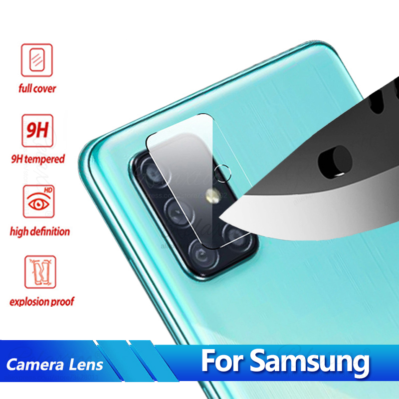 2pcs Camera Lens Protective Glass On The For Samsung Galaxy A01 A11 A21 A31 A41 A51 A71 M11 M21 M31 M51 Tempered Film Galax M 21