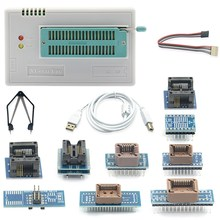 New V8.51 TL866II Plus Universal Minipro Programmer+10 Adapters+Test Clip TL866 PIC Bios High Speed Programmer(China)