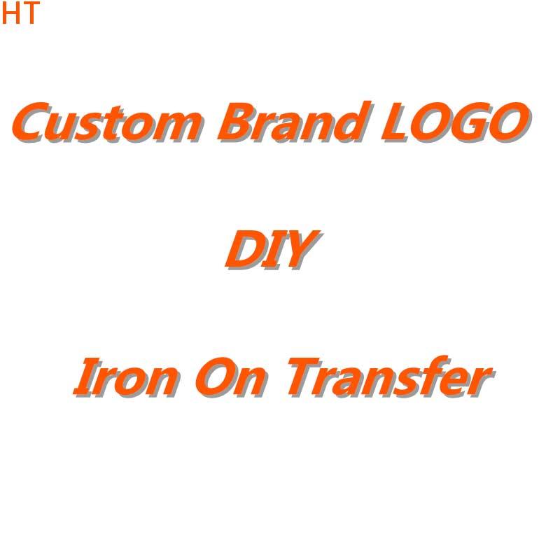 Сделай Сам логотип бренда патчи для одежды Железный На переноске для футболки теплопередача виниловая наклейка термопередача аппликация
