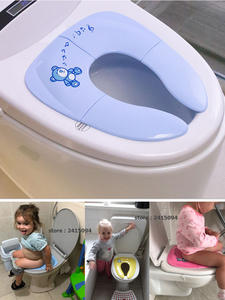 Cushion Potty-Seat Urinal Toilet-Training-Seat Folding Travel Toddler Baby Portable Children
