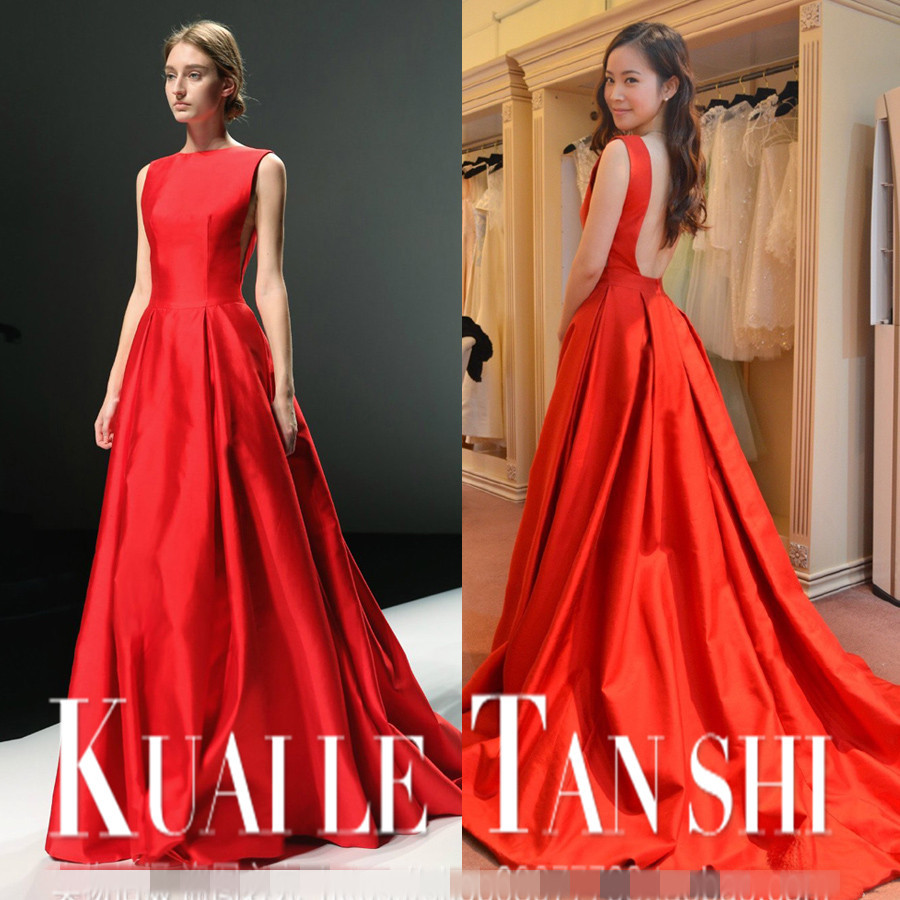 Robe De Soiree Courte New Saree Sexy Backless 2018 Party Gowns Vestidos Formal Cheap Evening Red Gown Mother Of The Bride Dress