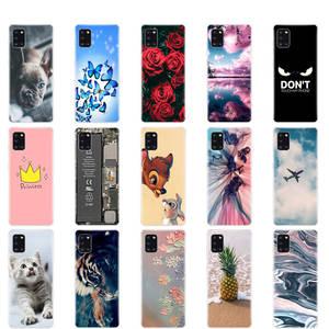 Case for Bumper Coque Phone-Cover Samsung A31 Silicon A 31 SM-A315F Soft TPU Full-Protective