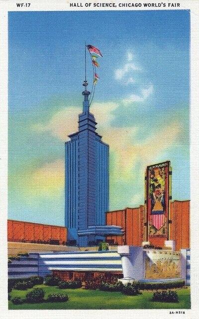 Affiche dexposition Vintage en toile bricolage   Stickers muraux, salon du monde de Chicago, propagande Vintage, affiches de Bar artistique Home, cadeau de décoration