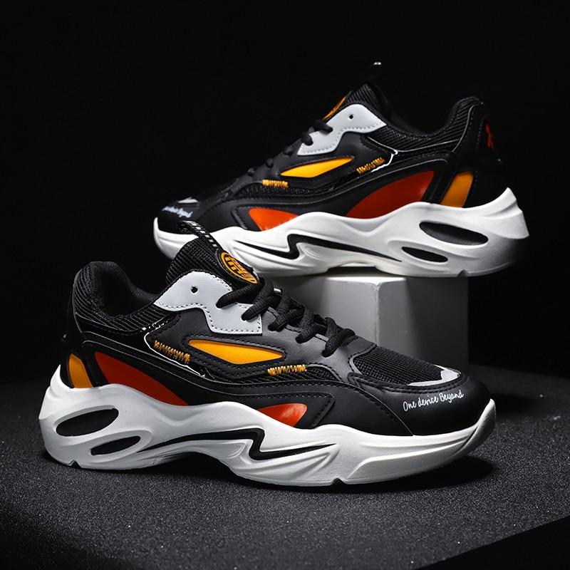 Mannen Mode Schoenen Herfst Man Casual Schoenen Trend Ademend Licht Sneakers Voor Mannen Zapatos De Hombre Flats Schoenen Instappers Merk