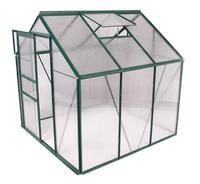 1.9X1.3X2.1m aluminum alloy metal structure with PE cover greenhouse easy assemble