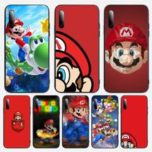 Mario Game Phone Case For Samsung S Note20 10 2020 S5 21 30 ultra plus A81 Cover Fundas Coque